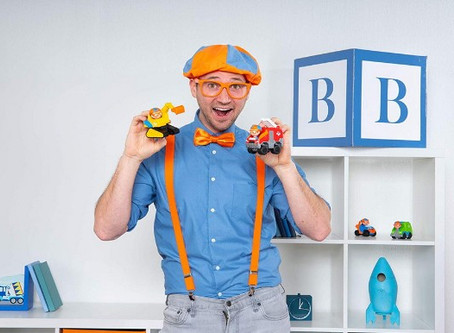 Learn and play with Jazwares new Blippi line