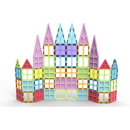 Magnetic Tiles & Building Blocks - STEM Certified Toys, Magnets for Kids/Boys
