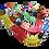 Thumbnail: 100 Piece Race Car Track Building Block Educational Toy Set