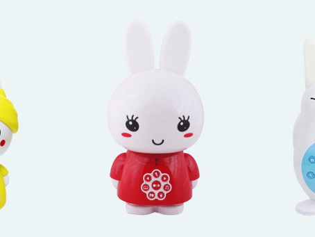 Alilo Bunny Family: an interactive rabbit toy family - from birth!