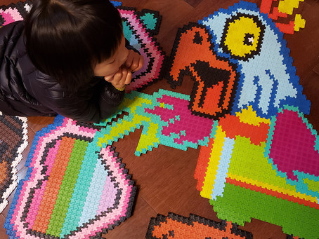 VOHOHO has developed world's first pixel jigsaw puzzles , Never fall apart.