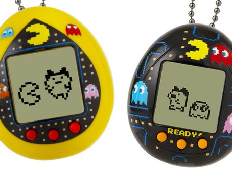 Bandai America Tamagotchi Deluxe Pac-Man combines two classics in one toy