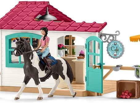Horse Club Rider Cafe: Scheich equestrian club cafe