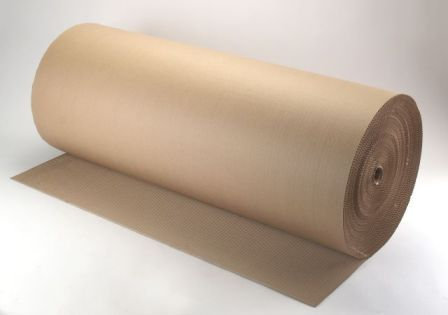 גליל קרטון גלי רוחב 1 מטר אורך 50 מטר