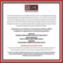 CHE Vacancies 02.2020