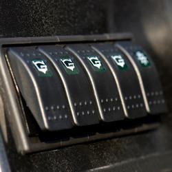 Bass Pro switch panel
