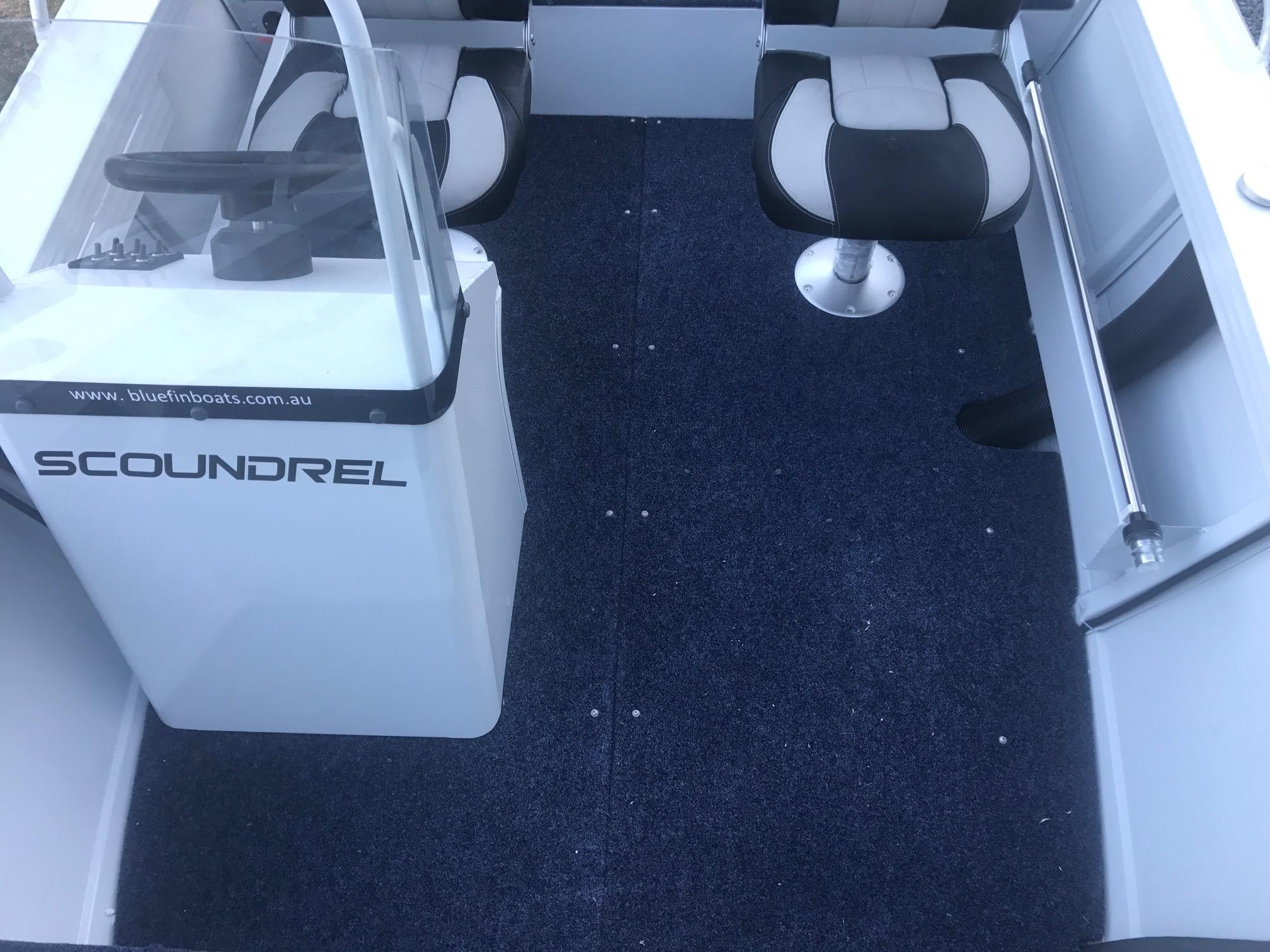 Scoundrel cockpit