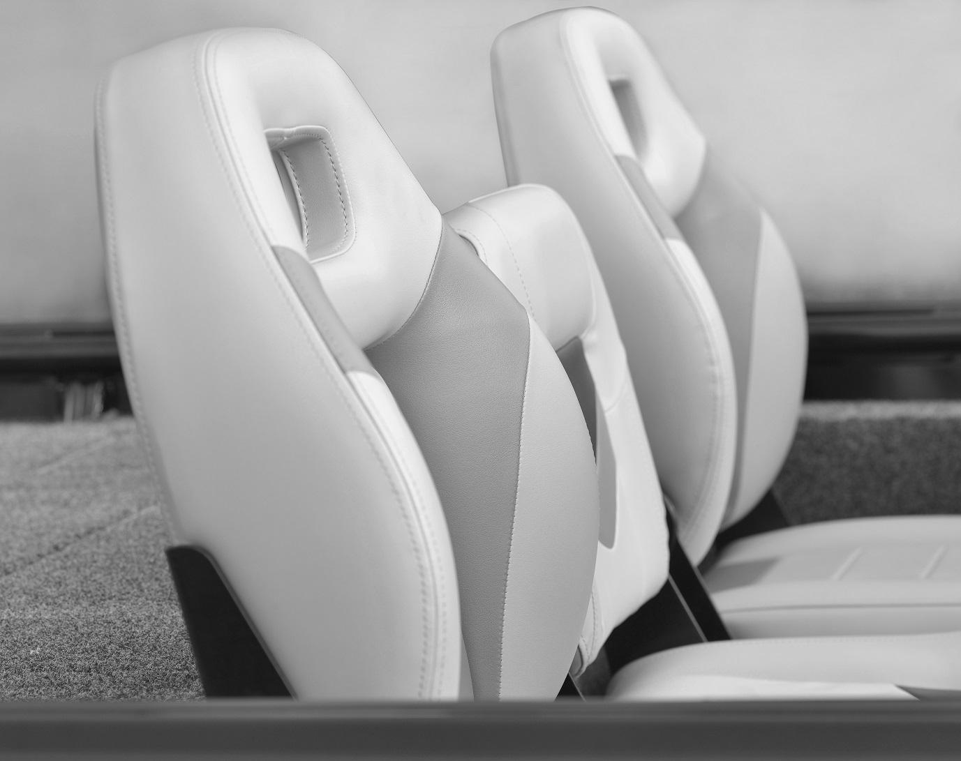 Bass Pro row seats