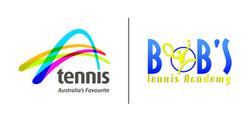 TA_Bob's Tennis Academy lock logo
