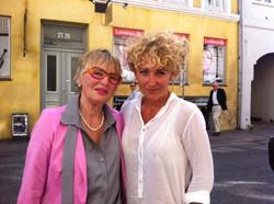 Mor & datter (Britha & Camilla)