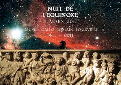 Envie d'avoir la tête dans les étoiles !  Nuit de l'Equinoxe Samedi 11 Mars Théâtre Gallo Ro
