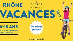 Dispositif Rhône Vacances 2017