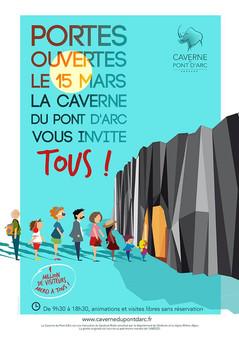 La Caverne du Pont d'Arc - Journée gratuite porte ouverte le 15 Mars!