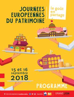 Programme Journées Européennes du Patrimoine Lyon 2018