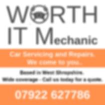 WORTH IT mobile mechanic shropshire, car servicing shrewsbury, bridgnorth, tenbury wells