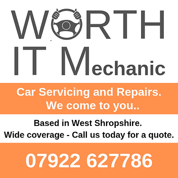 WORTH IT mobile mechanic shropshire, car servicing shrewsbury, bridgnorth, tenbury wells, mobile mechanic ludlow