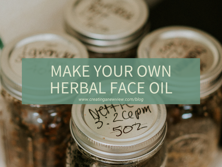 Making Herbal Face Oil