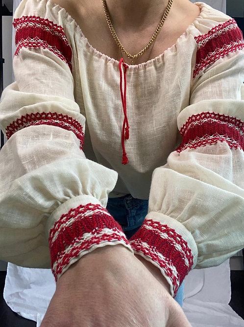 1970's peasant blouse