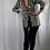 Thumbnail: A.J Bari Silk houndstooth jacket