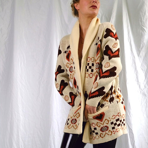 70's Cardigan with Pockets