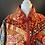 Thumbnail: Vintage handmade patchwork style cotton jacket