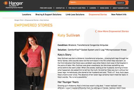 Hanger Clinic Empowered Stories
