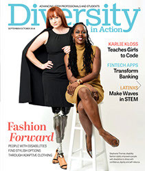 Diversity in Action - Magazine cover
