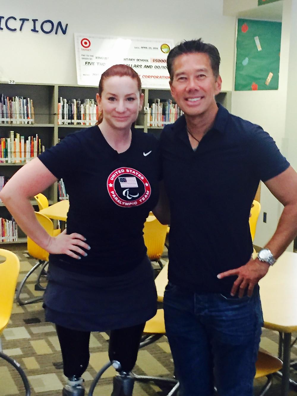 Katy Sullivan and Gordon Tokumatsu