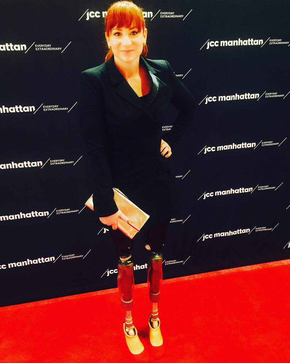 Red Carpet at the JCC Manhattan for the Reel Abilities Film Festival