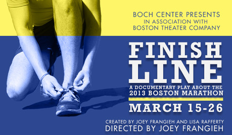 Katy joins the cast of FINISH LINE: A Documentary Play about the 2013 Boston Marathon