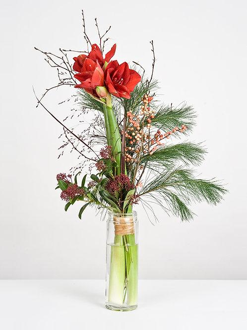 Grand bouquet de saison en hauteur