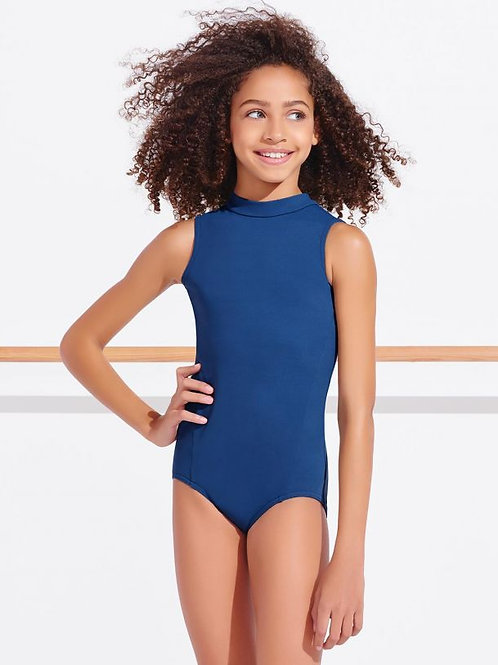 TC0048C Polo Neck Leotard - Girls
