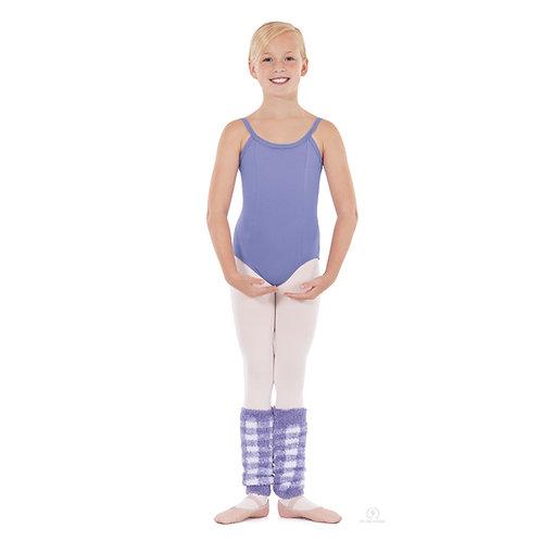 72526C Child Plush Plaid Legwarmers