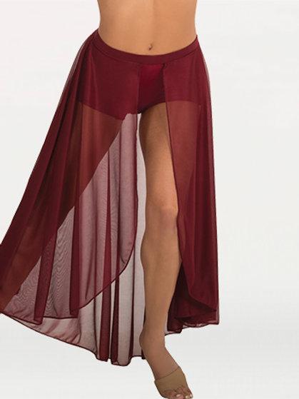 BW9105 Long Length Chiffon Skirt