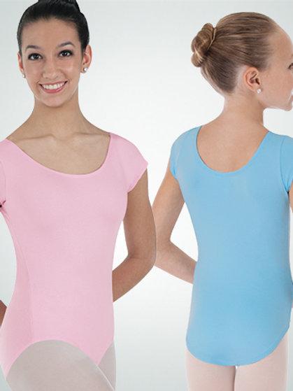 BWP220 BW ProWEAR® Cap Sleeve Ballet Cut Leotard