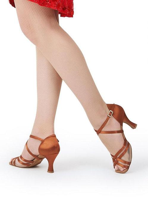 "BR4007W Paola 2.5"" Flared Heel Ballroom Shoe"
