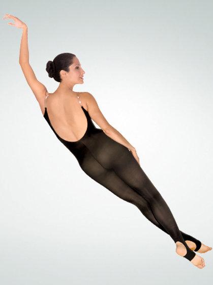 A93 TotalSTRETCH® Camisole Body Stirrup Tights