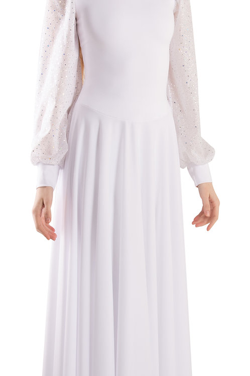 613 Twinkle Puff Sleeve Dress