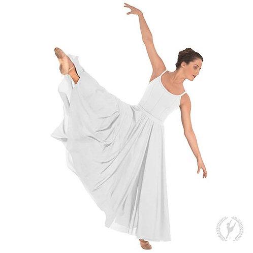 13674 Adult Triple Panel Lyrical Skirt