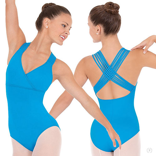 4493 Adult Lattice Back Leotard