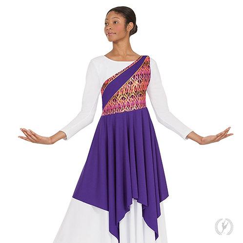 63567 Joyful Praise Asymmetrical Tunic