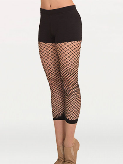 A63 TotalSTRETCH® Crop Fishnet Tights