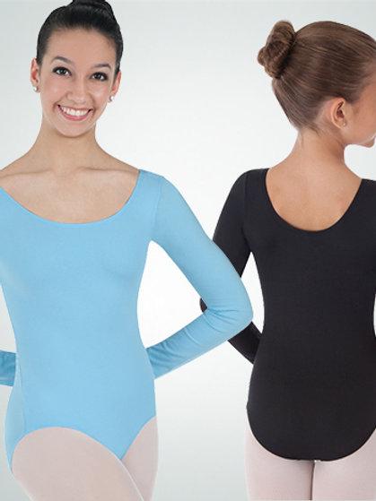 BWP226 BW ProWEAR® Long Sleeve Ballet Cut Leotard