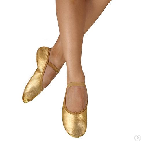 A2001a Tendu Metallic Full Sole Ballet Shoe