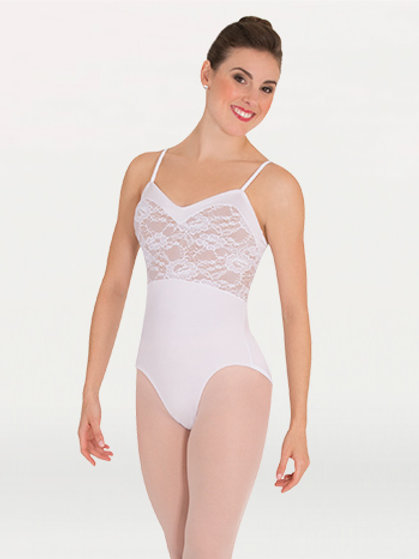 P1083 Sweetheart Lace Bodice Leotard