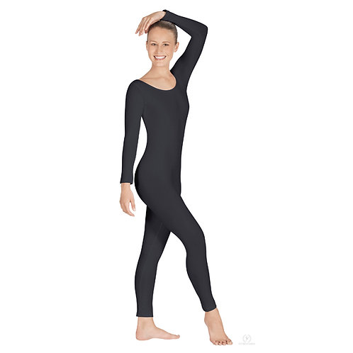 44129 Microfiber Scoop Neck Unitard