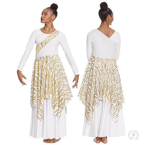 82567 Passion of Faith Asymmetrical Tunic.