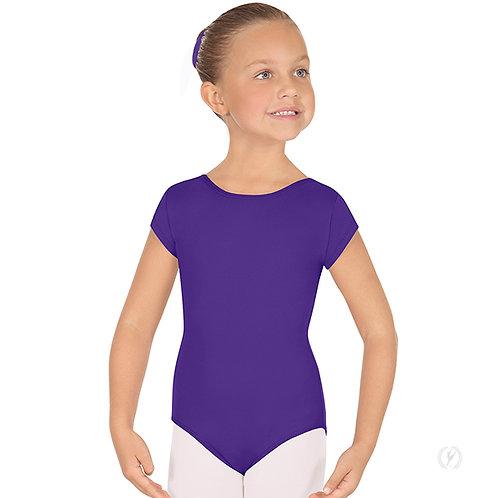 44475C Girls Short Sleeve Tactel Microfiber