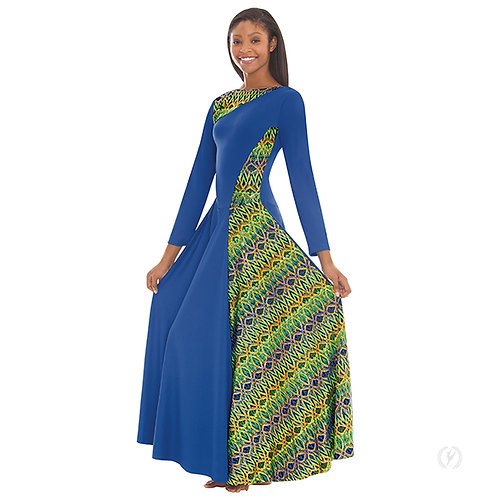 63867 Adult Joyful Praise Asymmetrical Dress