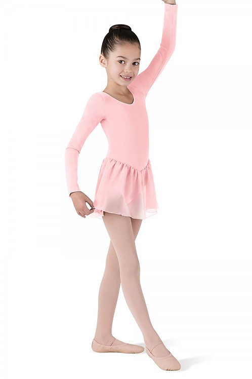 CL5309 Long Sleeve Leo w/Skirt